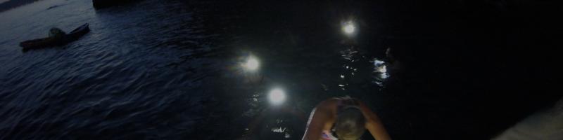 Split night Kayak