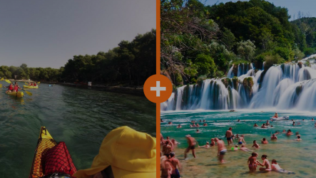 Sea Kayak and Krka tour special offer