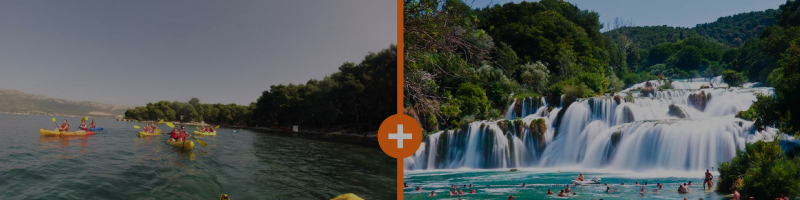 Sea Kayak and Krka tour special offer