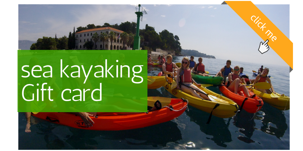 split sea kayaking Gift card